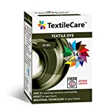 TextileCare Textilfarbe für Waschmaschine und Textilien, 350 g Farbstoff für 600 g Kleidung, 14 Farben khaki