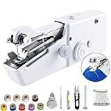 Eadidi Handheld Sewing Machine, Mini Handy Cordless Portable Sewing Machine, Mini Sewing Machine for Kids Clothes, Home, DIY Accessories (Battery Not Included) (25pack)