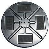 ROKAMAT Grundteller mit Klett Ø350mm - Zubehörscheibe für ROKAMAT Filzmaschinen DRY, WET, AKKU-FILZ, NAUTILO, PFM5 und Betonglätter SKATE