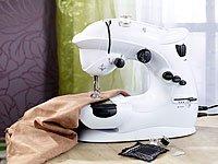 Sichler Haushaltsgeräte Nähmaschine: Kompaktnähmaschine mit 7 Nähprogrammen (Mini Nähmaschine) - 4