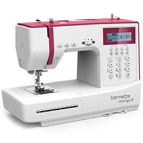 Bernette Sew&GO 8 Computer-Nähmaschine mit 197 Programmen - Nähen, Patchen, Quilten - 1